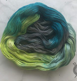 Yarn Love Lucky on Princess Buttercup Fingering from Yarn Love