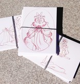Yarnover Truck Note Cards - Dale Baer Art