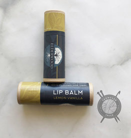 Elderwood Apothecary Lemon Vanilla Mint Lip Balm  from Elderwood Apothecary
