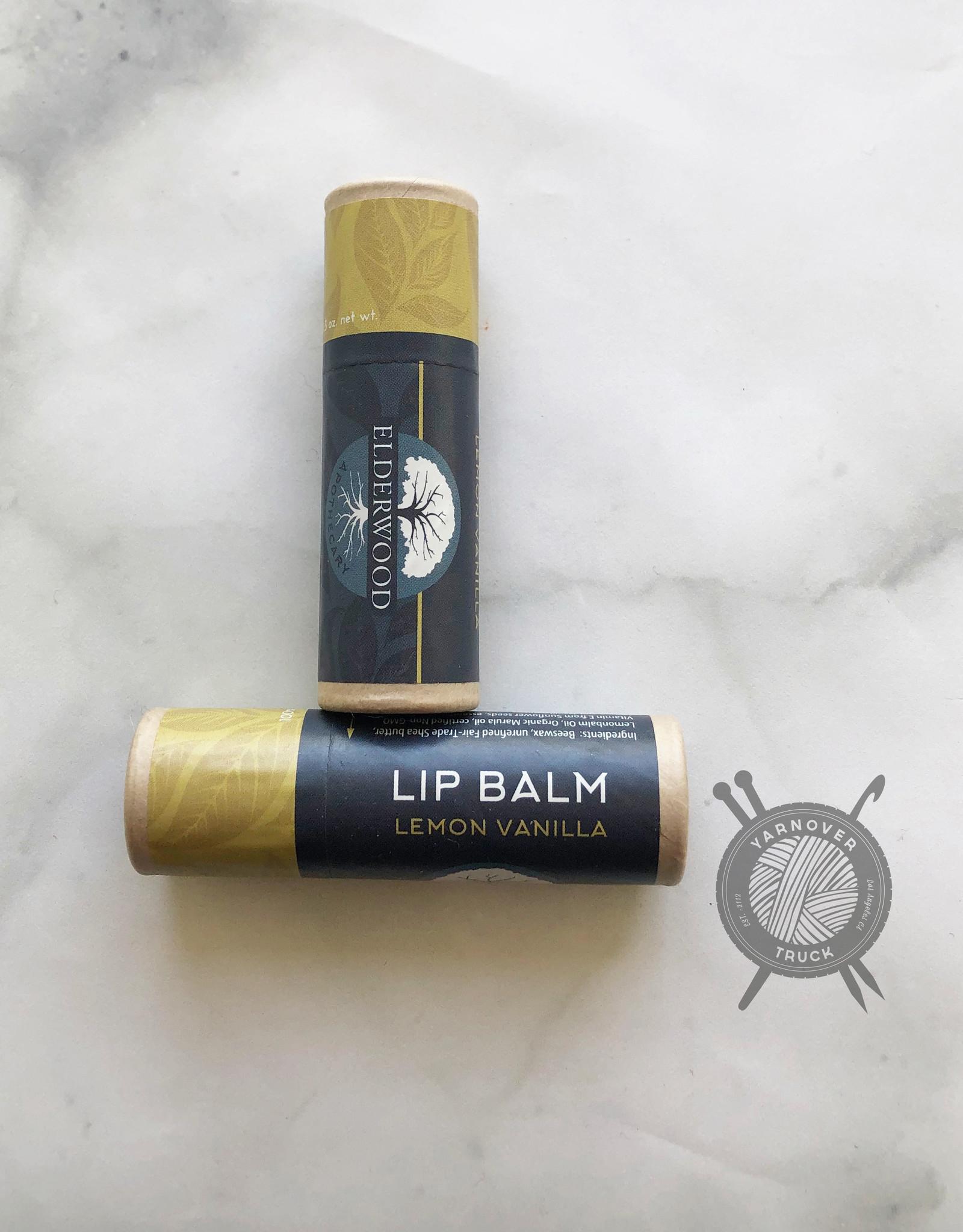 Lemon Vanilla Mint Lip Balm  from Elderwood Apothecary