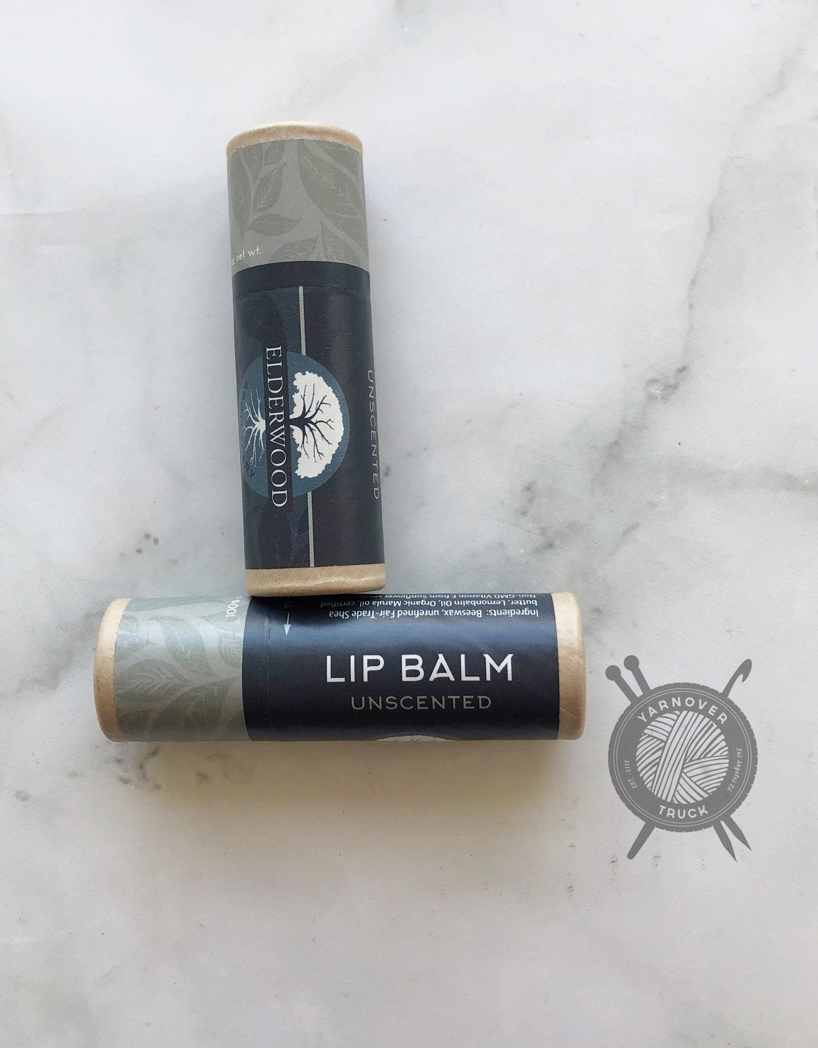 Unscented Lip Balm from Elderwood Apothecary