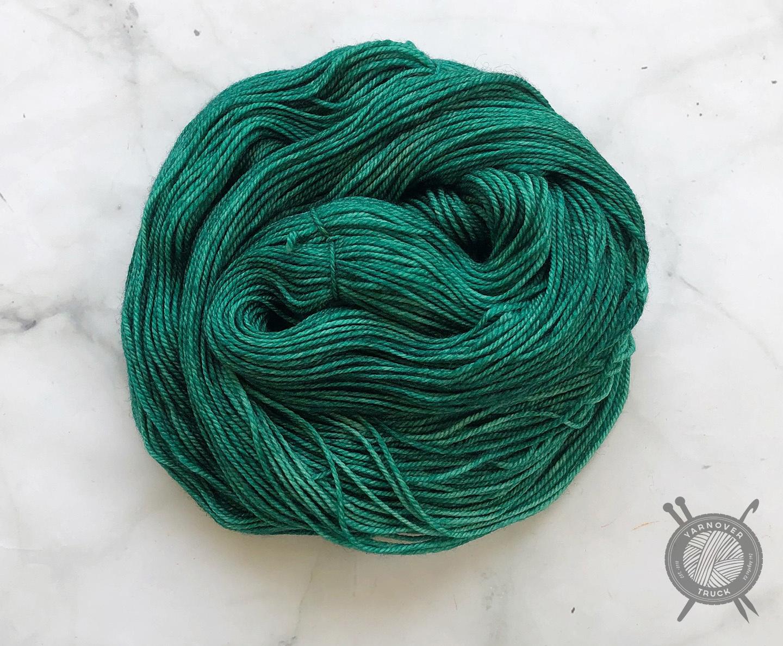 Candy Skein Emerald Gumdrop on Tasty DK from Candy Skein