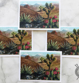 Desert Watercolor Note Cards by Diane Medgaarden Nelson