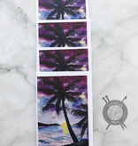 Palm Trees Watercolor Note Cards by Diane Medgaarden Nelson
