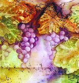 Grapes Watercolor Note Cards by Diane Medgaarden Nelson