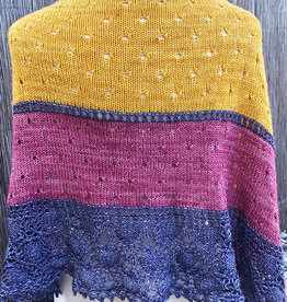 Yarnover Truck Oyster Shawl Kit