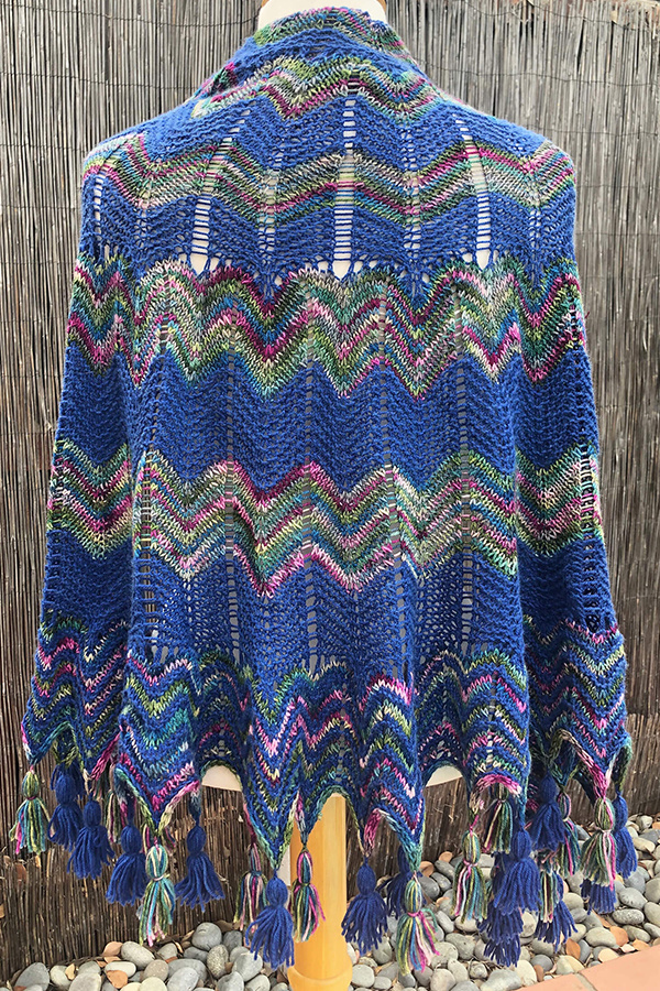 Yarnover Truck California Waves Shawl Kit