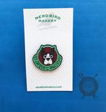 I Support Ravelry Enamel Pin from Nerd Bird Makery