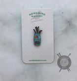Baller Enamel Pin from Nerd Bird Makery
