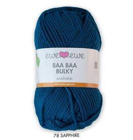 Ewe Ewe Ewe Ewe Baa Baa Bulky Sapphire Blue