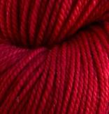 Anzula 1 Red Shoe on Cricket from Anzula Luxury Fibers