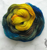 Dragonfly Fibers Van Gogh's Sunflowers on Damsel from Dragonfly Fiber
