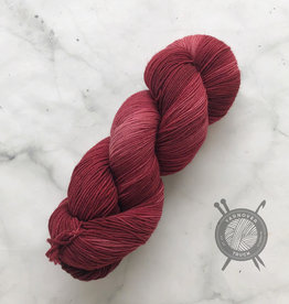 Forbidden Fiber Co. Scarlet Witch on Gluttony Sock from Forbidden Fiber Co.