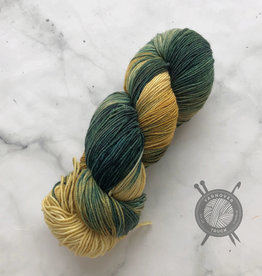 Forbidden Fiber Co. Loki on Gluttony Sock from Forbidden Fiber Co.