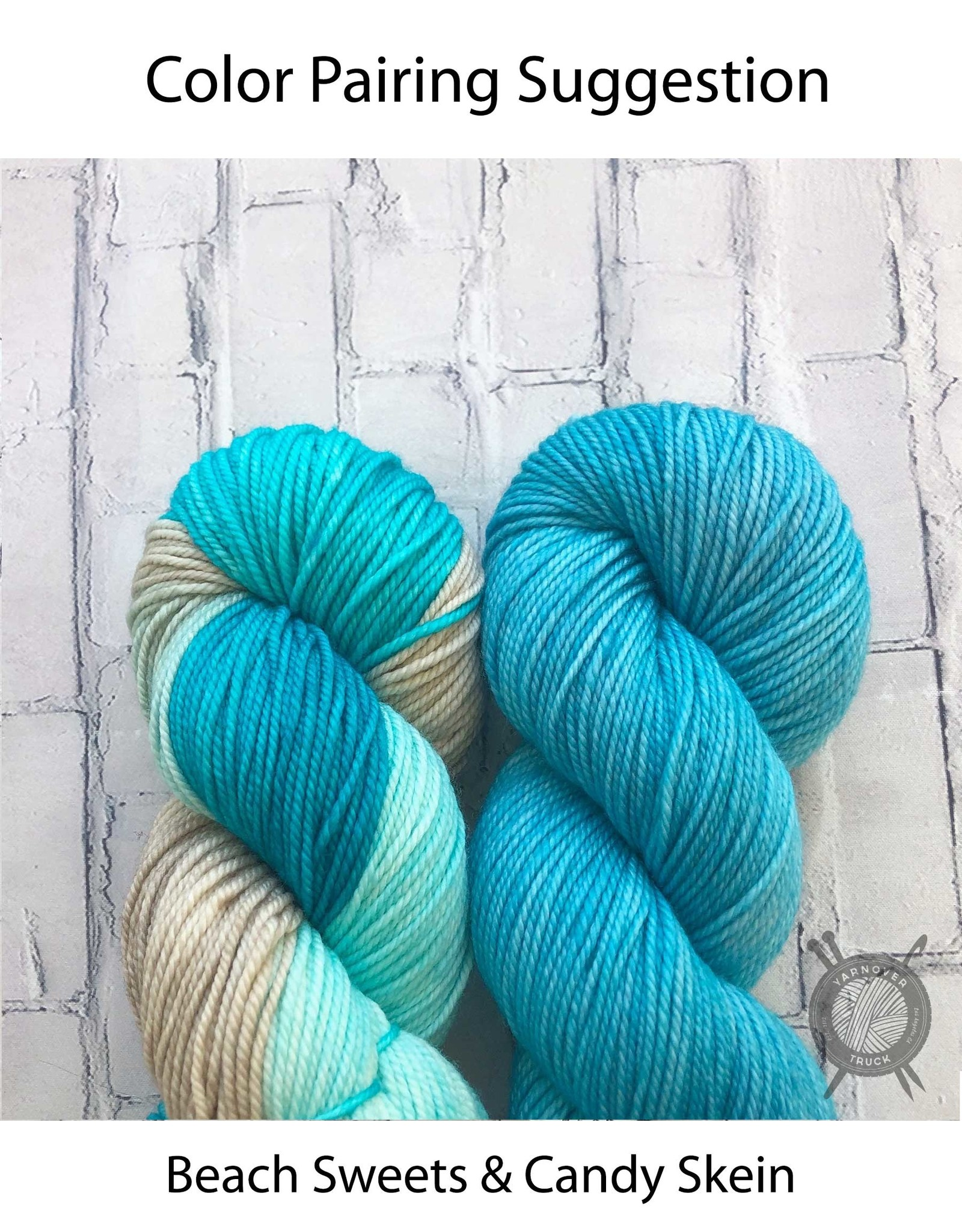 Candy Skein Candy Skein on Yummy Fingering from Candy Skein