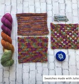 Yarn Love Prickly Pear on Princess Buttercup Worsted from Yarn Love