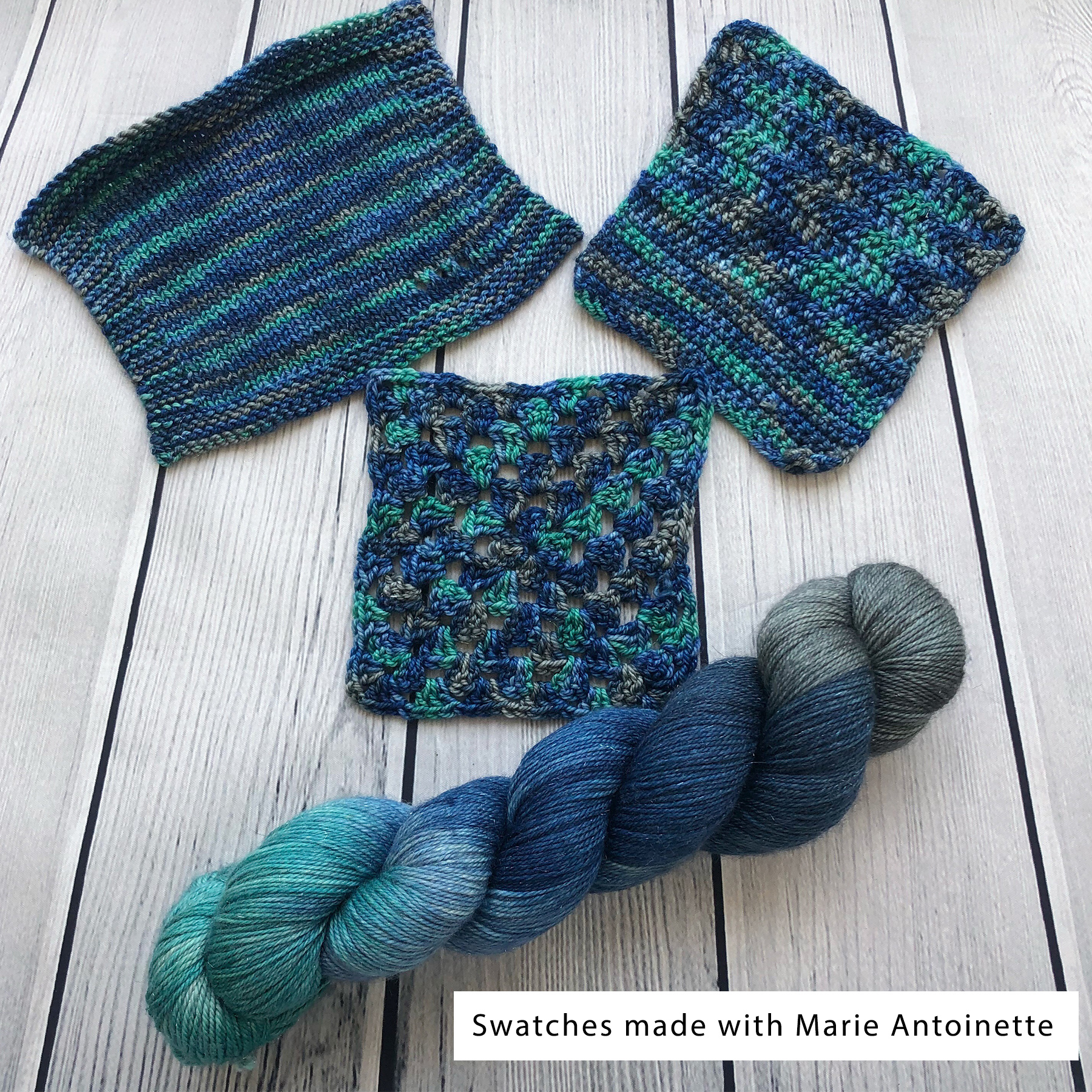 Yarn Love Beneath The Waves on Princess Buttercup Worsted from Yarn Love