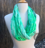 Oink Pigments Slither Inn Silk Scarf from Oink Pigments