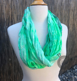 Slither Inn Silk Scarf from Oink Pigments