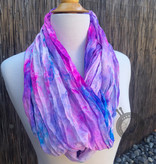 Super Dope Heliotrope Silk Scarf from Oink Pigments