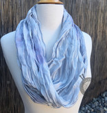 Silver Lining Silk Scarf from Oink Pigments