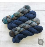 Western Sky Knits Brooks Blue on Merino 17 Worsted from Western Sky Knits