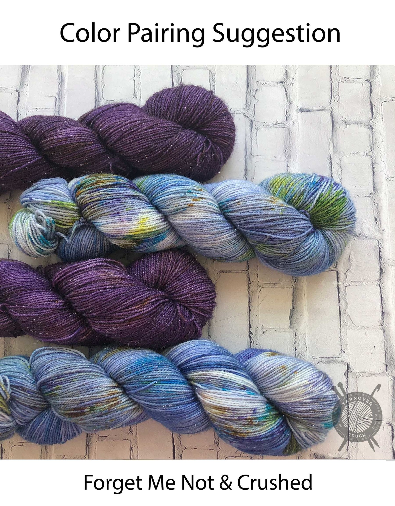 Western Sky Knits Crushed on MCS Fingering from Western Sky Knits