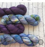 Western Sky Knits Crushed on Merino 17 Worsted from Western Sky Knits