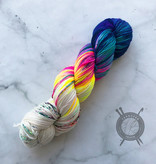 A Whimsical Wood Yarn Co Notorious A.S.S. on Mermaid Mischief DK from A Whimsical Wood Yarn Co