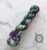 Forbidden Fiber Co. March 2021 Color of the Month on Gluttony Worsted from Forbidden Fiber Co.