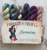 Forbidden Fiber Co. Hermione Mini Set Collection on Gluttony Sock from Forbidden Fiber Co.