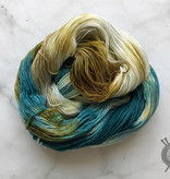 Forbidden Fiber Co. May 2021 Color of the Month on Gluttony Sock from Forbidden Fiber Co.
