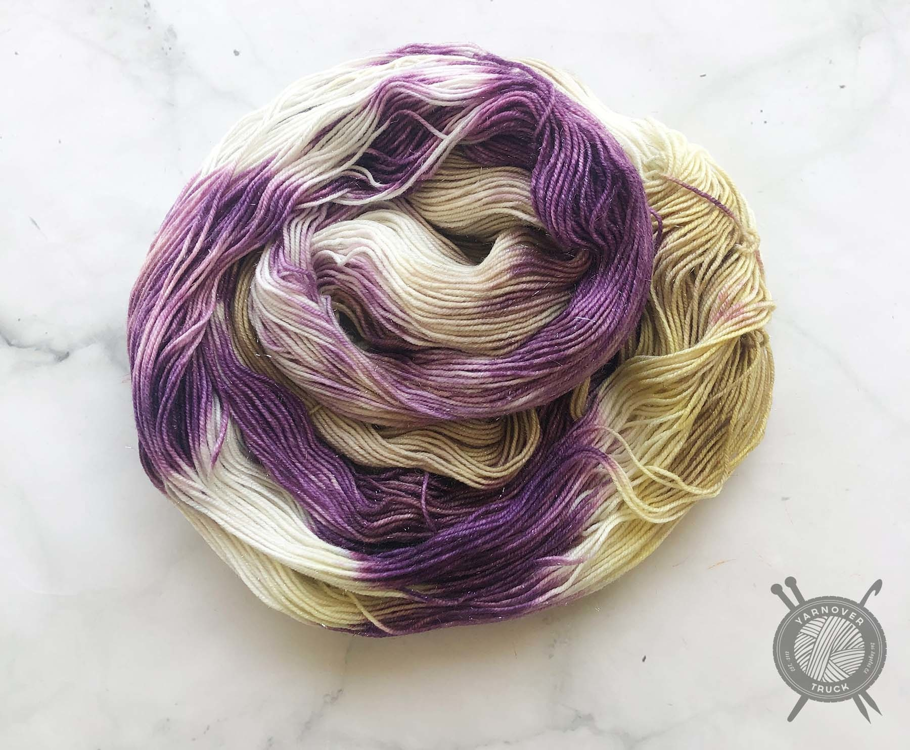 Forbidden Fiber Co. August 2021 Color of the Month on Pride from Forbidden Fiber Co.