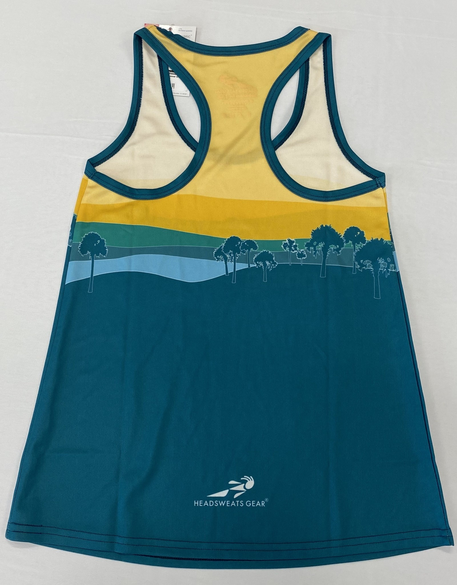 Grounded Running W-Headsweat Singlet