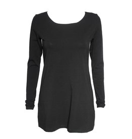 Crea Concept Crea Concept Knit Long Sleeve Top - Black
