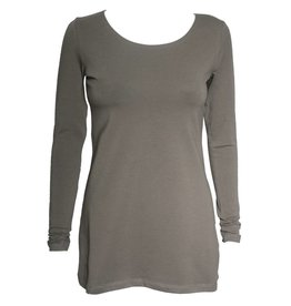 Crea Concept Crea Concept Knit Long Sleeve Top - Olive