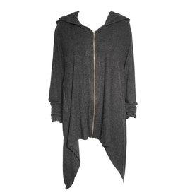 Gershon Bram Gershon Bram Mandy Hooded Tunic - Grey
