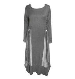 Gershon Bram Gershon Bram Luna Pocket Dress - Grey