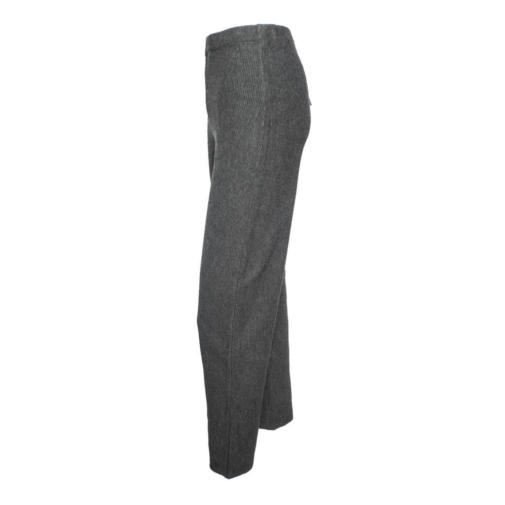 Banana Blue Banana Blue Rib Knit Pants - Charcoal