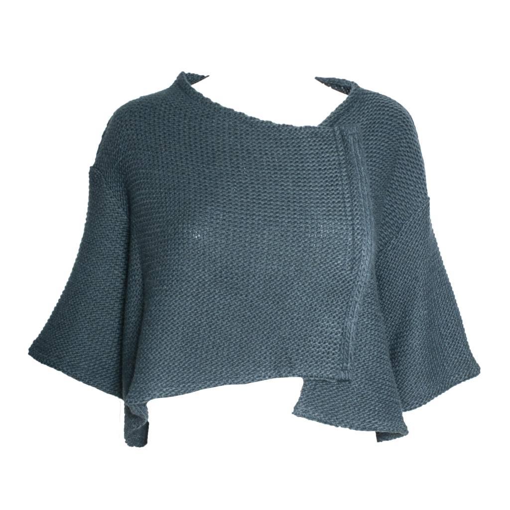 Kedziorek Kedziorek Short Sleeve Sweater - Blue