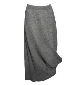 Kedziorek Kedziorek Drape Skirt - Grey