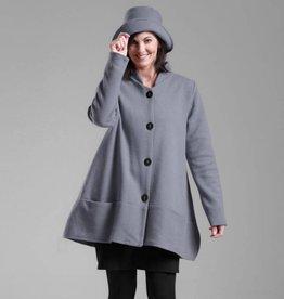 Fat Hat Fat Hat Trendy Topper Jacket - Smoke