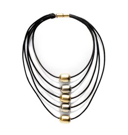 Zzan Jewelry Zzan Jewelry Layered Bead Necklace