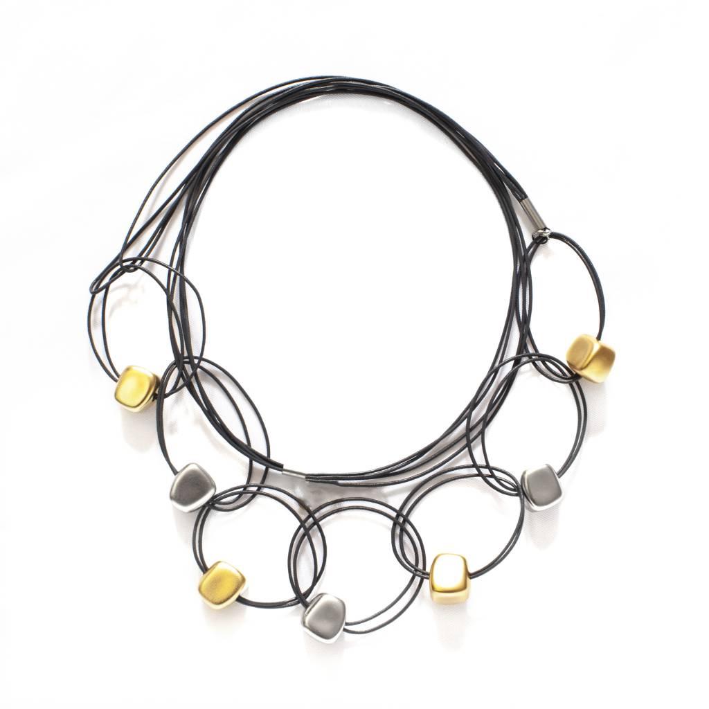 Zzan Jewelry Zzan Jewelry Long Beaded Ring Necklace