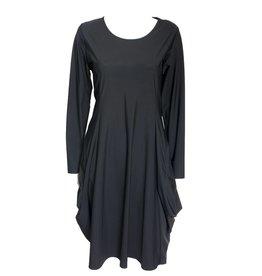 Jason Jason Mary Long Sleeve Dress - Black