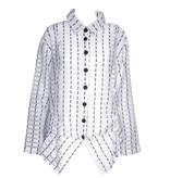 Dress To Kill Dress to Kill Tucked Up Shirt - Sheer Navy