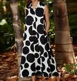 Alembika Alembika Bubble Print Dress - Black/White
