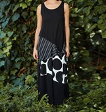 Alembika Alembika Bubbles and Stripes Dress - Black/White