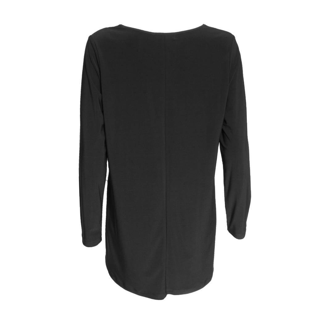 Sun Kim Sun Kim Long Sleeve Tunic - Black