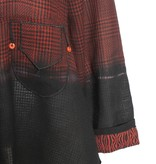 Deborah Cross Deborah Cross Balayage Shirt - Red/Black
